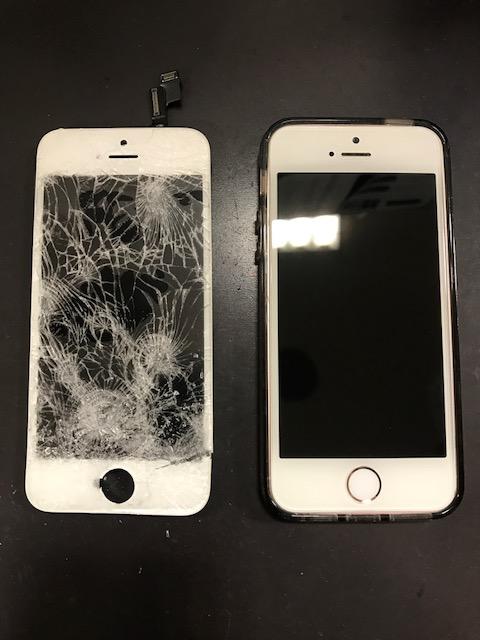 画面修理でストレスフリーな夏を楽しみましょう!iPhone5s画面修理【伊丹市よりご来店のお客様】