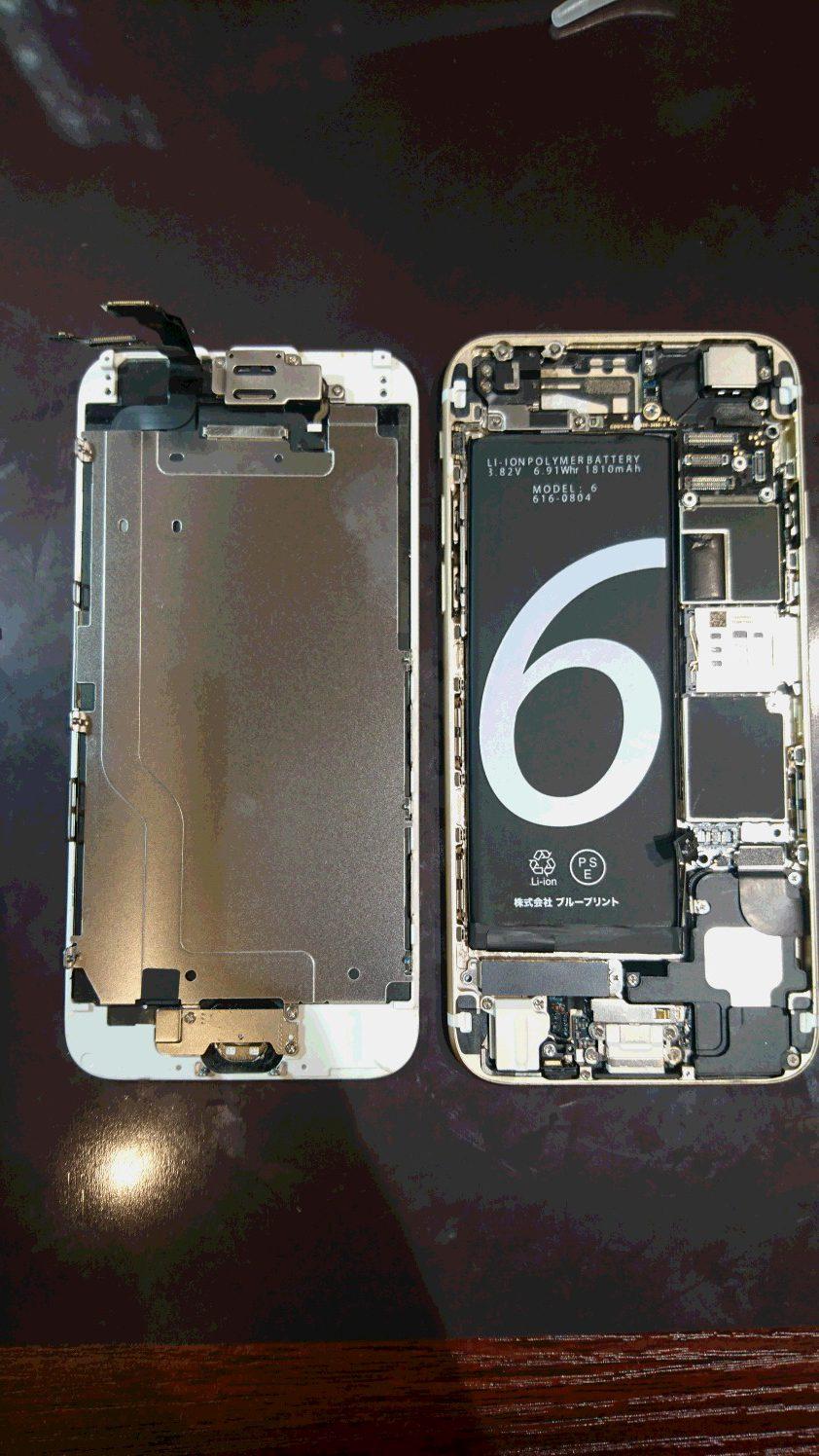 iphone6バッテリー交換!最短15分でできます(^◇^)つかしん店オープンしました!データそのままで各種即日修理出来ます♪お買い物のついでにどうぞっっ♪バッテリーの持ちが悪いなと思ったらバッテリーの替え時かも|д゚)