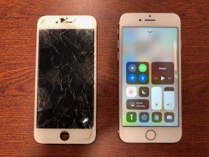 画面修理を行ったiPhone6s