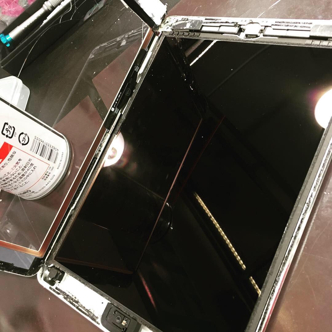 ipadairガラス液晶交換 データそのままアイパッド修理店スマートクール伊丹尼崎店 伊丹市よりお越しのお客様