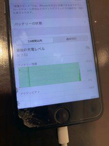 Iphone アイフォン iPhone 7 バッテリー 交換 電池 劣化 表示