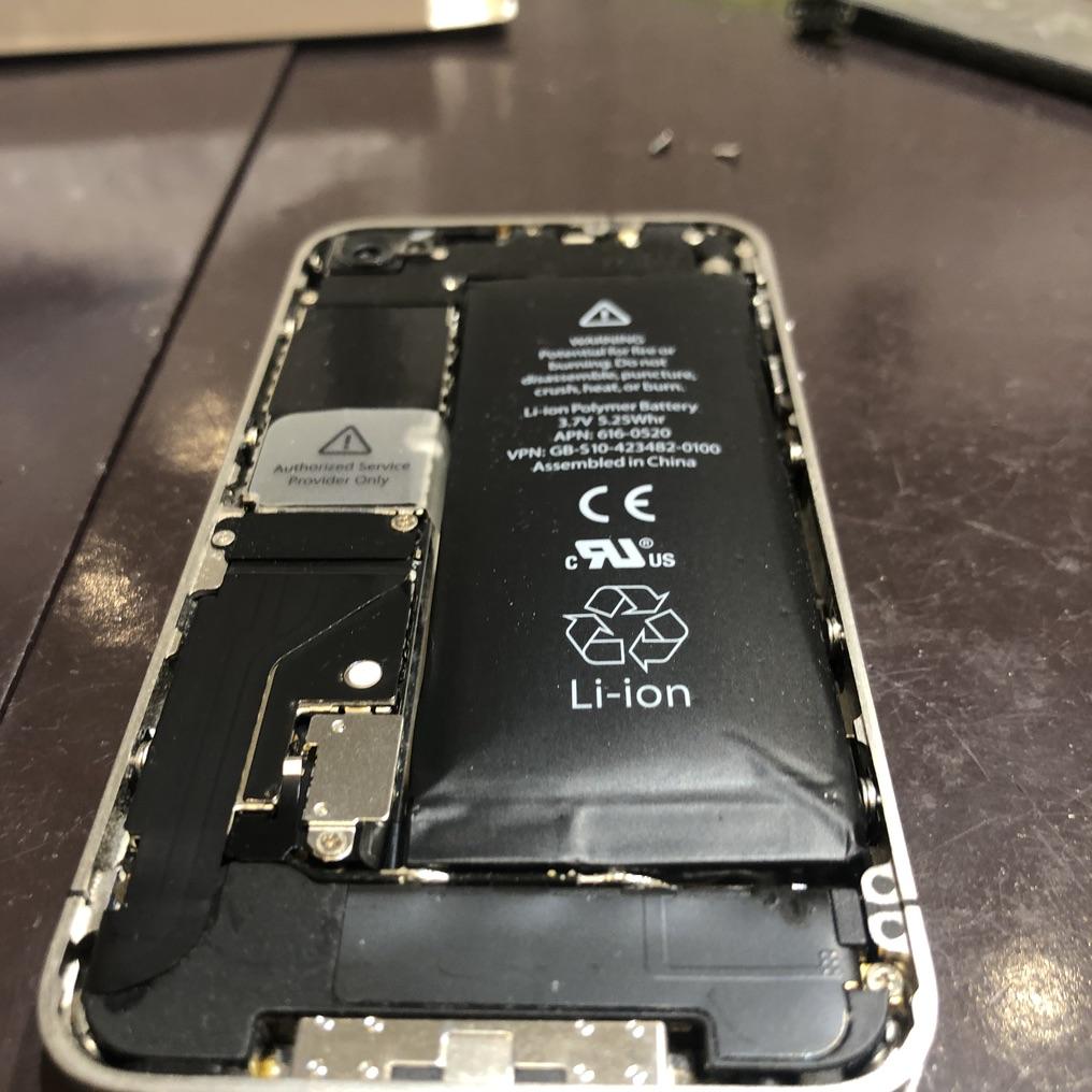 【希少!】修理事例!iPhone4のバッテリー交換にも対応可能!スマートクールつかしん店へご相談くださいませ!!