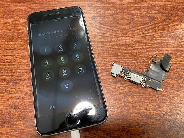 iphone7 コネクタ交換 伊丹市よりお越しのお客様 ミ