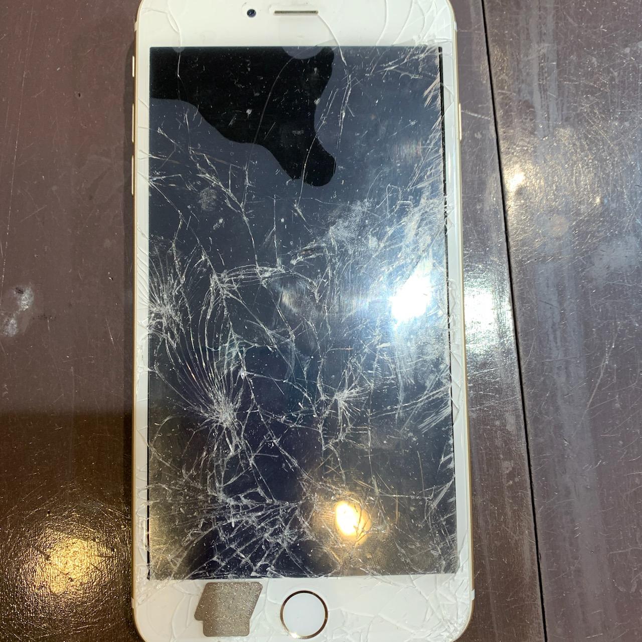 【iPhone6Splus画面修理】川西−大きな画面が割れてしまった💦スマートクールつかしん店なら最短約30分!ヒ