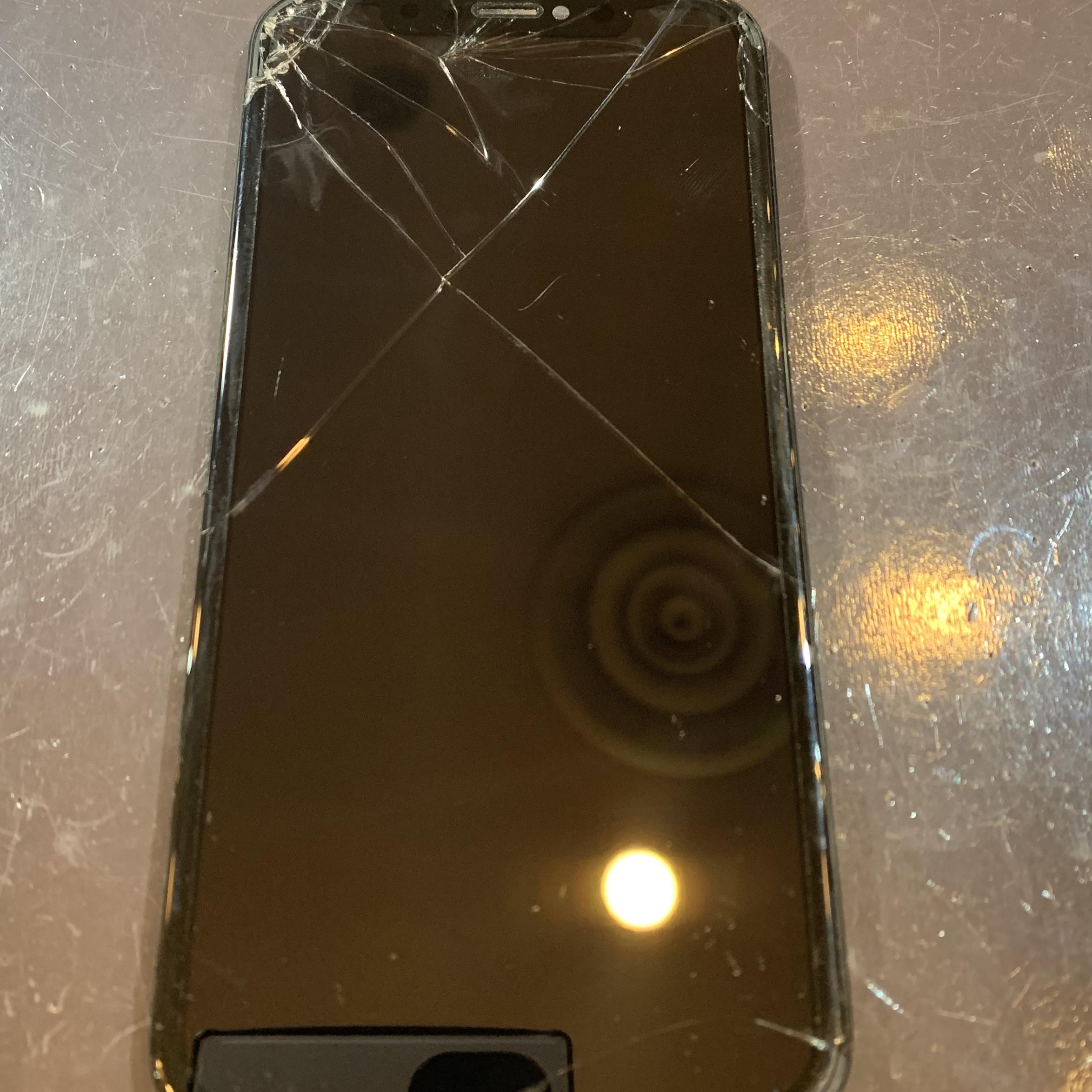iPhoneXS 画面交換<伊丹市よりご来店>as