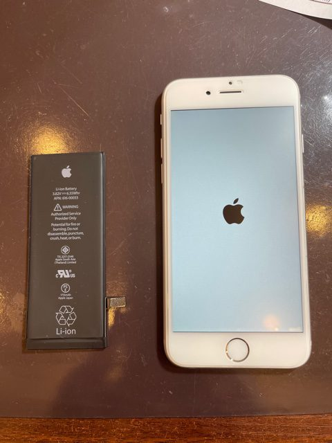 iPhone6 バッテリー交換 尼崎市よりお越しのお客様 s