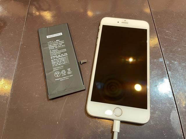 iPhone6sPlus 【バッテリー交換】 尼崎からお越しのお客様 ka