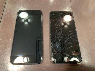 iPhoneSE(第2世代)の画面修理 【川西からお越しのお客様】オ